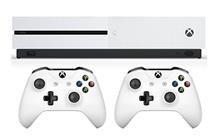 Microsoft Xbox One S 1TB Bundle 2Gamepad white Game Console